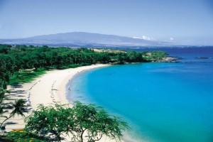 Kauna'oa Bay, Hawaii pairs well with Chilean wine
