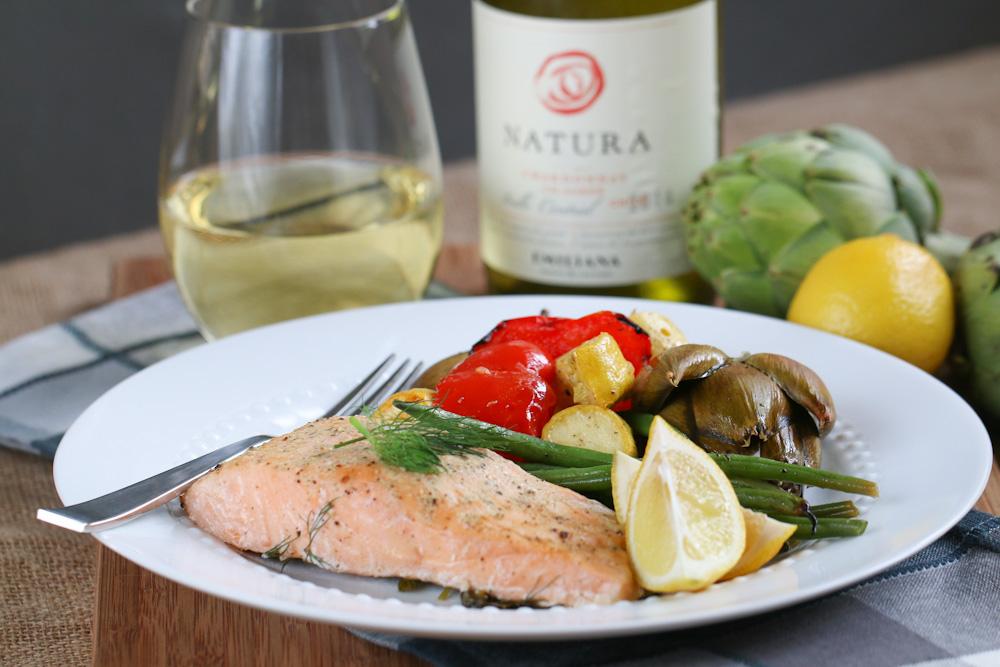 Salmon & Wine Pairing Recipe