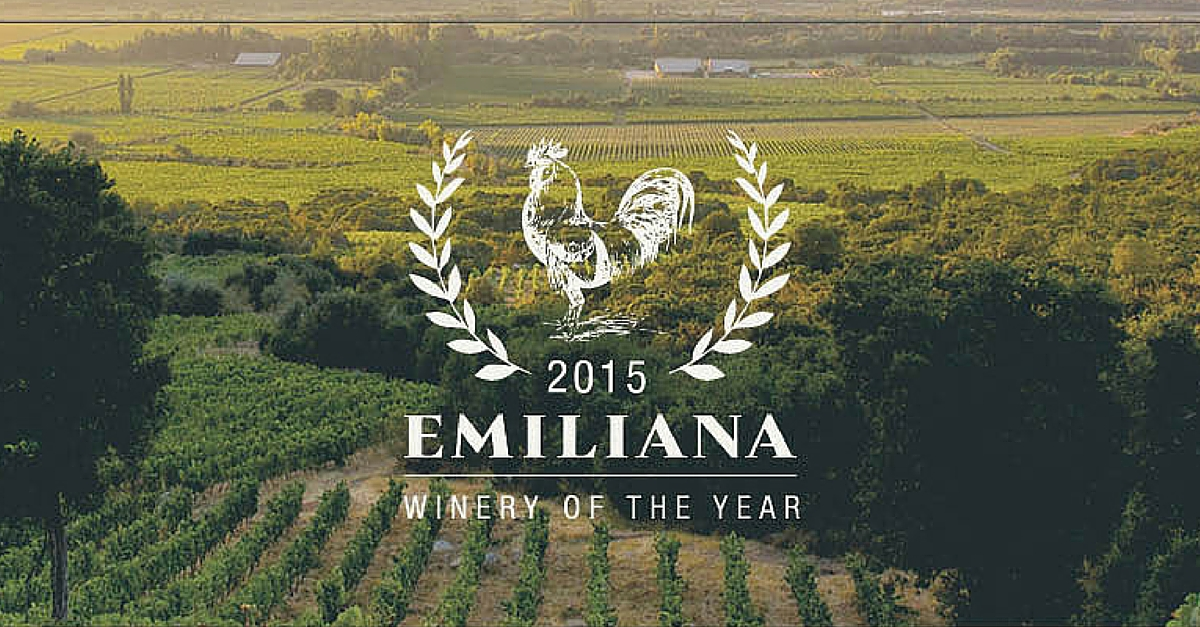 Emiliana Named Winery of the Year by Wines of Chile