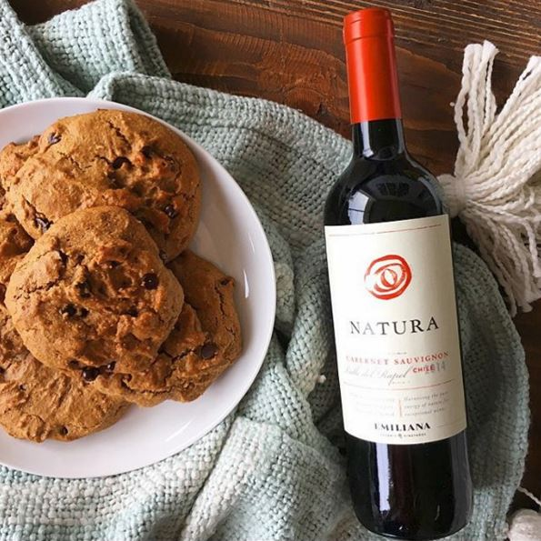 Almond Butter Chocolate Chip Cookies Recipe | Natura