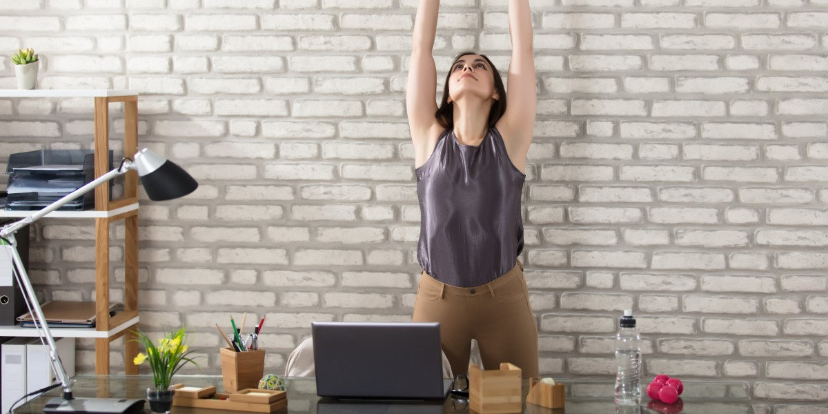 Relax with Wine   Yoga Poses for Office Workers   Natura Wines of Chile